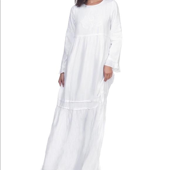 b8af8e99e6870 White Periwinkle Dress